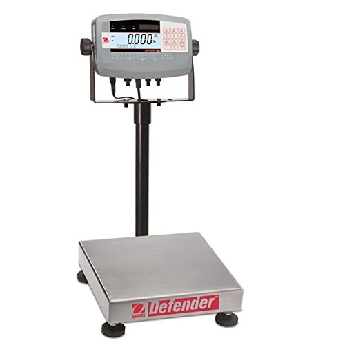 Ohaus Bench & Floor Scales - Defender Model D71P25QR1, 50lb x 0.005lb (25kg x 0.002kg) default resolution<BR>Platform Size 12 x 12 x 3.8 in / 30 x 30 x 10 Cm by Ohaus