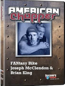 American Chopper - FANtasy Bike: Joseph McClendon & Brian King