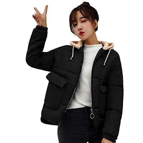 chaqueta Invierno invierno Abrigo capucha Niña gruesa de cálido ❤️ otoño con Sonnena caliente delgada la chaquetas mujer Mujer y fashion Abrigo qBwxBvZ
