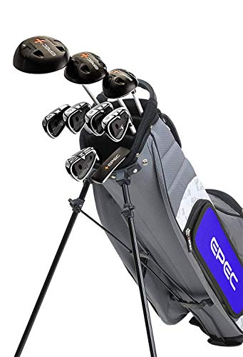 Epec Golf- EPEC Junior Set 8 Medium 9 Piece Grey/Blue [63''-65'']