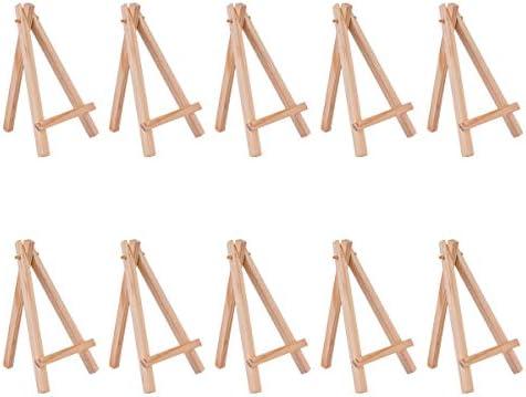 YoungRich 10 Piezas Mini Caballetes de Madera Artista Triángulo ...