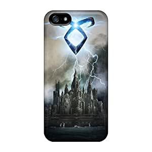 For Iphone Case, High Quality The Mortal Instruments City Of Bones For Iphone 5/5s Cover Cases