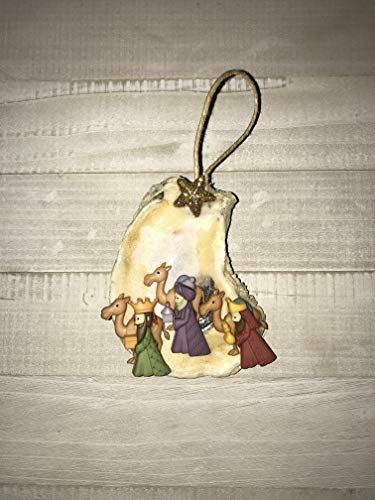 Wise Men Oyster Ornament