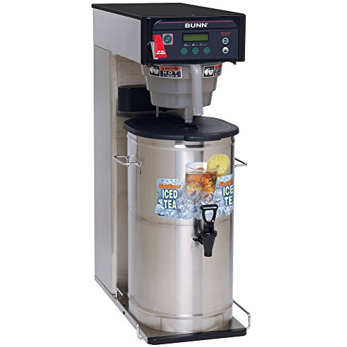 Bunn O Matic Itcb-Dv (29 Inch Trunk) Infusion Series Tea And Coffee Brewer - Dual Voltage Adaptable, Digital Temperature Control, Cold Brew Lockout, Alphanumeric Display, Brew Counter, Black Plastic Coffee Funnel, Tea Funnel -- 1 Each.