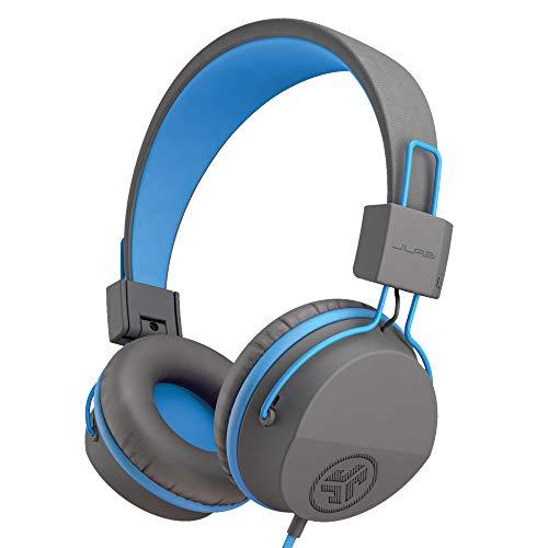 Kids Headphones Wired, JLab JBuddies Studio Headphones For Kids – Childrens Headphones with Microphone with Kid Safe…