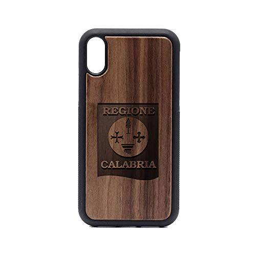 Logo Calgary Cannons - iPhone XR Case - Walnut Premium Slim & Lightweight Traveler Wooden Protective Phone Case - Unique, Stylish & Eco-Friendly - Designed for iPhone -