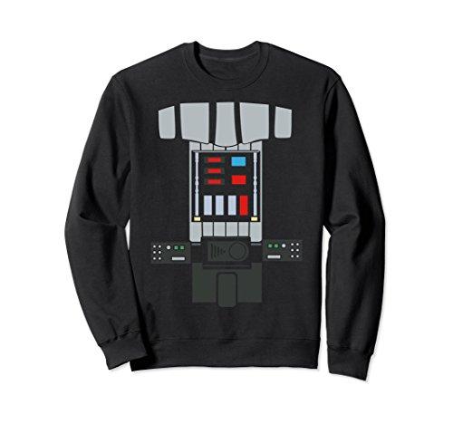 Unisex Star Wars Darth Vader Costume Graphic Sweatshirt XL: Black