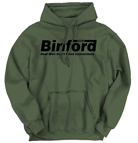 Binford Home Improvement Funny Shirt Cool Tim Allen Toolman Hoodie Sweatshirt