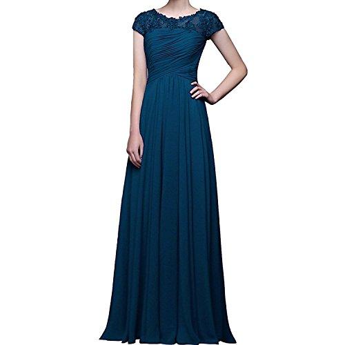 Promkleider Tinte Navy Ballkleider Braut Blau Herrlich Blau La Kurzarm Abschlussballkleider Brautmutterkleider Abendkleider mit mia F7AwqA0S4