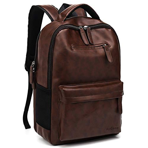 AirCase 25 Ltrs Laptop Backpack   15.6 Inch Laptop Bag for Men & Women – Brown