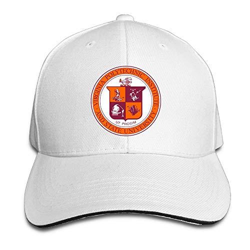 PAWJN Classic Addison Caldwell Baseball Caps Adjustable Sandwich Caps ()