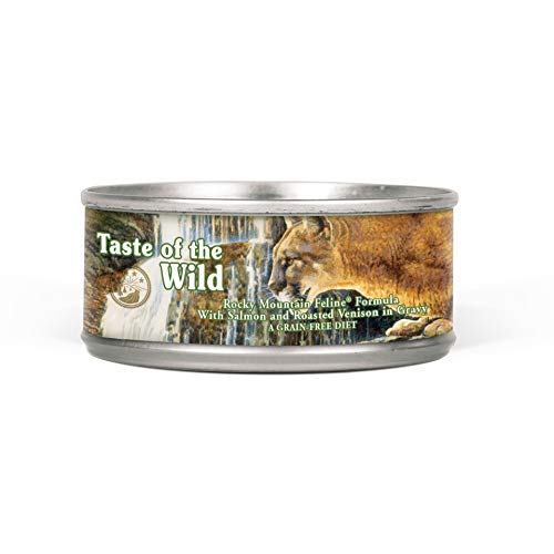 Taste of the Wild High Protein Real Meat Grain-Free Recipe Wet Canned Cat Food, Made With Premium Ingredients That…