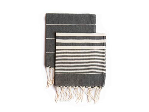 Set of 2, Eco-friendly Turkish Tea Towel,