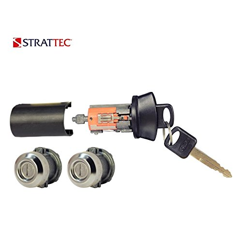 (Strattec 7012802Ford Ignition/2 Door Locks Set (Coded with)
