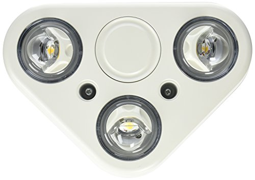ALL-PRO Outdoor Security REV335FW Revolve LED Triple Head Fl