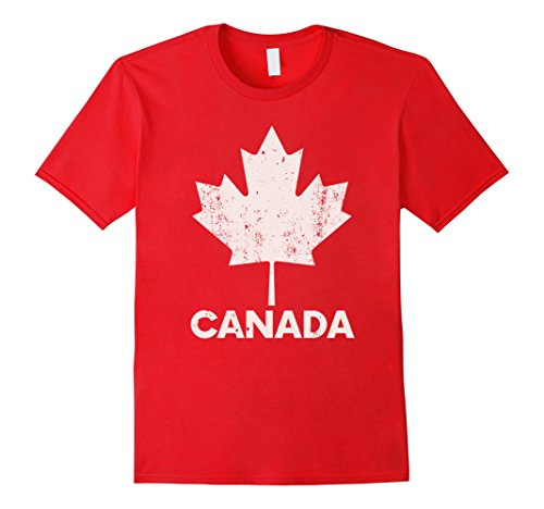 Mens FLAG OF CANADA Country Love Halloween Costume T Shirt XL (Costumes Halloween Canada)