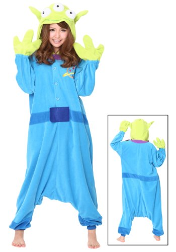 [Alien Pajama Costume (Standard)] (Toy Story Aliens Costumes)
