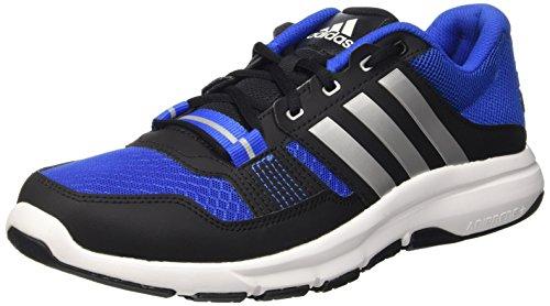 Adidas Multicolore blue Gym cblack Scarpe Uomo Da Fitness 2 Warrior silvmt rwr0xTq86