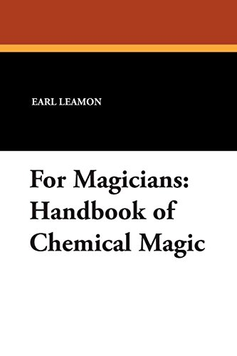 For Magicians: Handbook of Chemical ()