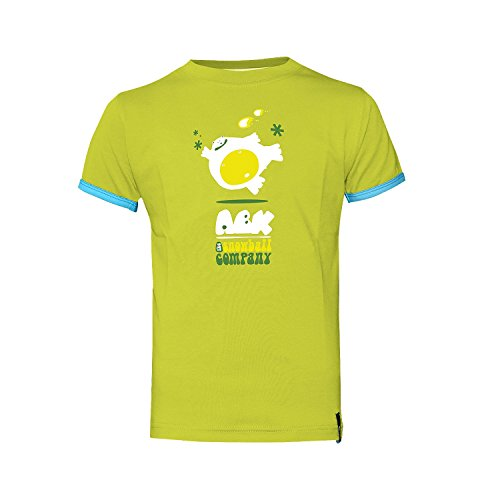 chartreuse shirt À Enfants Snowball T Courtes Tee Vert Manches Abk Green pzSqAz