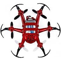 JJRC H20 Mini RC Quadcopter, Sunhouse 2.4G 4Ch 6-Axis Gyro Nano Hexacopter Drone CF RTF (Red)