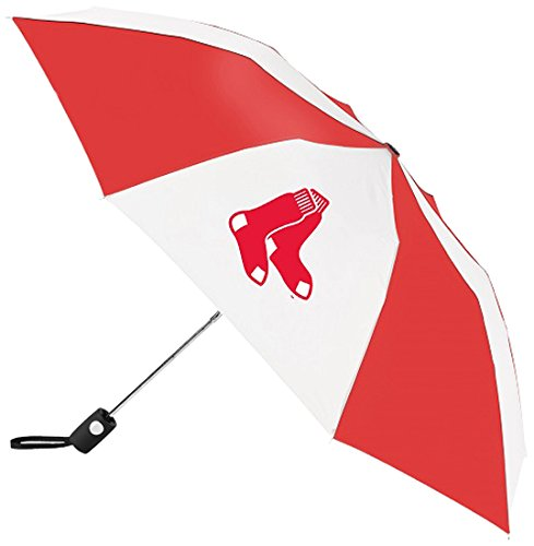 MLB Boston Red Sox Automatic Folding Umbrella - Mlb Umbrella