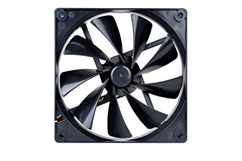 Thermaltake 140mm Pure 14 Series Black Quiet High Airflow Case Fan CL-F013-PL14BL-A