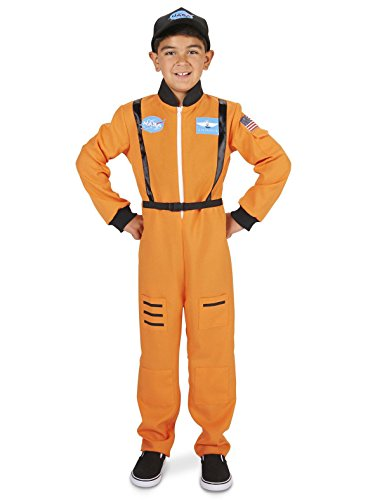 Dream Weavers Costumers Orange Astronaut Child -