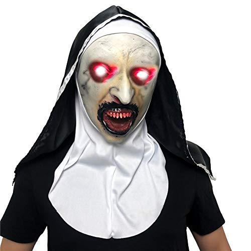 Scary Mask Tesco - Amasstu Halloween Scary Mask Light Up