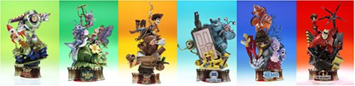 Disney Pixar Formation Arts Collection Figures Part1 BOX Set of 6 ()