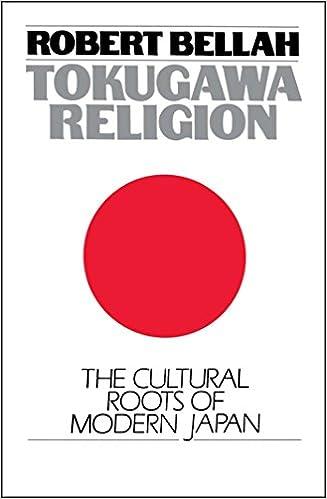 Tokugawa Religion Robert N Bellah 9780029024607 Amazon Books