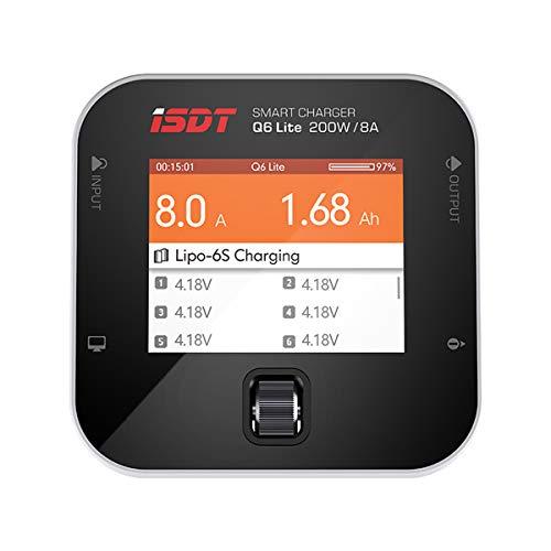 ISDT Q6 Plus 300W 14A MINI Pocket Lipo Battery Balance Charger for LiFe/Lilon/LiPo/LiHv/NiMH/Cd/Pb RC Models DIY