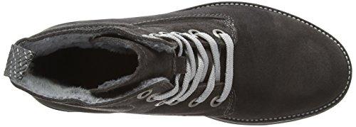 Tamaris 25273 - Botas de cuero para mujer gris - gris (graphite 206)