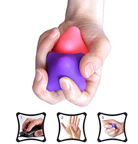 Hand Massage Exercise Therapy Balls-Deep Tissue