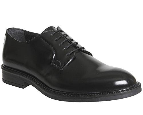 Ask The Missus , Herren Sneaker Black Hi Shine Leather