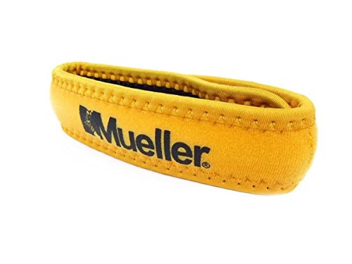Mueller Sports Medicine Runners Jumpers Knee Strap Patella Support Brace Yellow