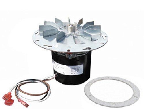 PelletStovePro - St Croix Lancaster Pellet Stove Exhaust Combustion Blower Fan w/ Gasket - 80P20001-R, 80P30521-R