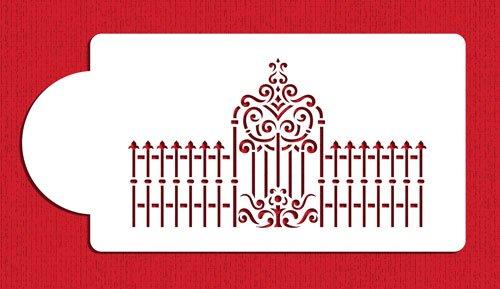 Victorian Gate - Victorian Gate and Fence Cake Stencils by Designer Stencils