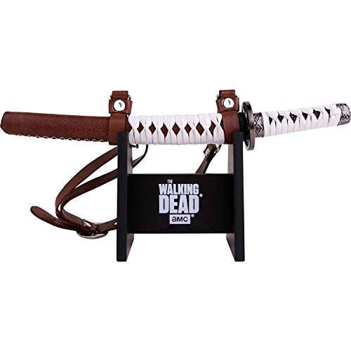 (Walking Dead Official Katana Letter Opener with Display Stand)