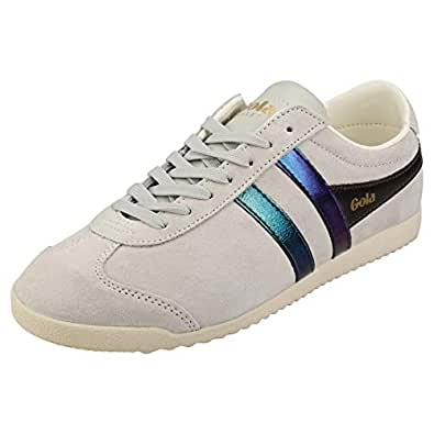 Gola Bullet Flash Womens Fashion Trainers in Off White Multicolour - 5 US