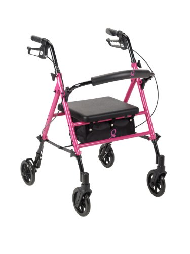 Drive Medical Awareness Adjustable Rollator