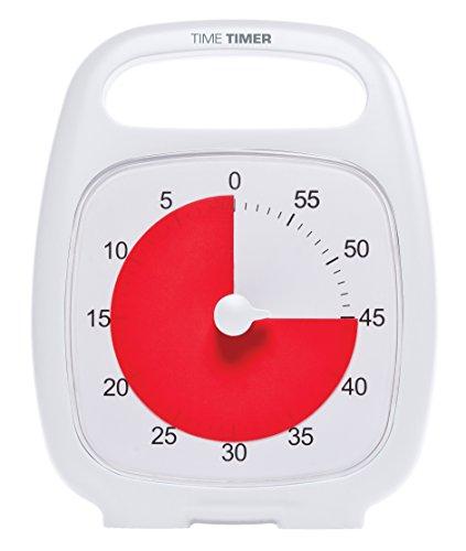 "7"" Time Timer Plus WHITE"