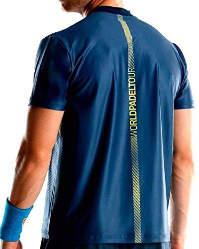 Bullpadel Camiseta TEFILO Azul: Amazon.es: Deportes y aire libre