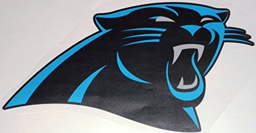 Panthers Logo Wall - FATHEAD Carolina Panthers Graphic Team Logo Official NFL Vinyl Wall Graphic 17