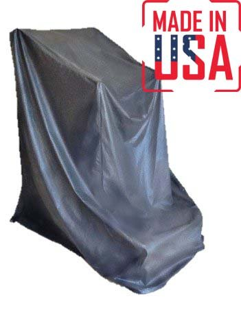 The Best Tread Climber Protective Cover. Heavy Duty UV/Mold/Mildew/Water Resistant Fitness Equipment Covers Ideal for Indoor or Outdoor Use. Made in USA with 3-Year Warranty. (Grey, Medium)