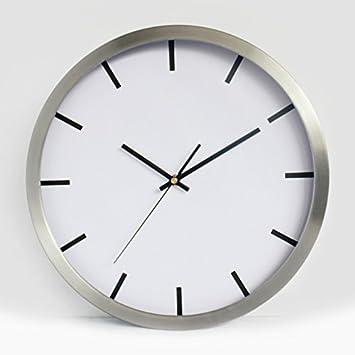 WuuLii Decor Reloj de Pared Reloj de Pared Simple - Reloj de Pared Reloj de Pared