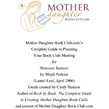 Monsoon Summer by Mitali Perkins: Book Club Meeting Planner