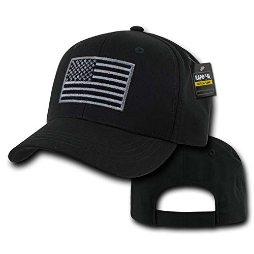Rapdom Tactical T76-USA-BLK  Embroidered Operator Cap, - Mall Mile Miracle