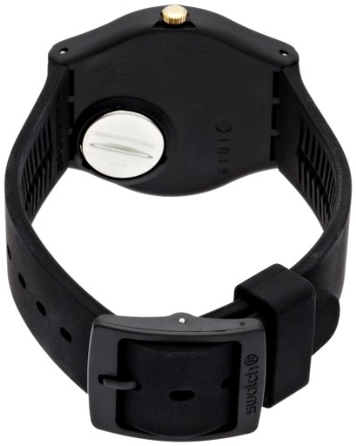 Swatch-Unisex-GB274-Golden-Tac-Analog-Display-Quartz-Black-Watch
