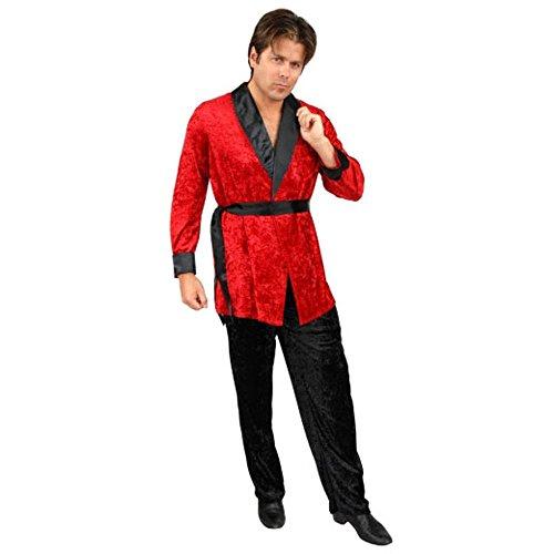 Smoking Jacket Adult Costume - -